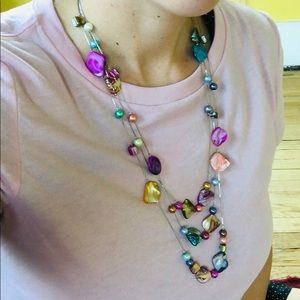 Beautiful Handmade Shell Necklace!